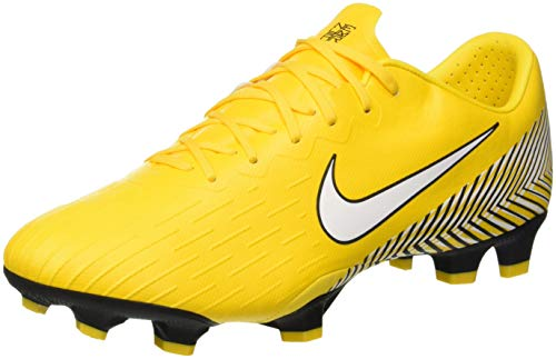 Nike Men's Vapor 12 Pro NJR FG Amarillo/White/Black (10.5)