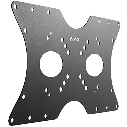 VIVO Steel VESA LCD LED TV Mount Adapter Plate Bracket for Screens 32 to 55 inches, Conversion Kit for VESA up to 400x200mm, MOUNT-AD4X2
