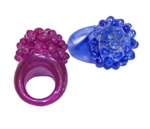 Set of 6 glow-in-the-dark Rings (Kostüm-Zubehör)