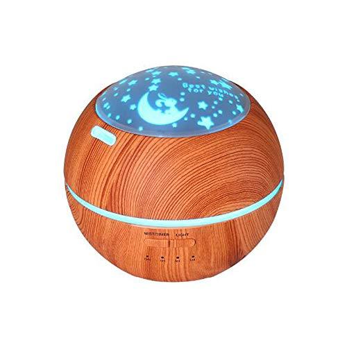 Luchtfilter, licht en schaduw, houtnerf, aromatherapie, machine, ultrasoon geluid in huis, creatieve sfeer, nachtlampje, aromatherapie, machine, luchtbevochtiger