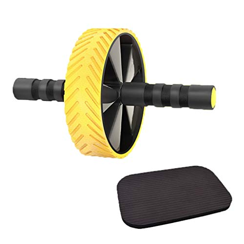 Buy Abs Exercise Roller Abdominal Training Wheel Strength Building Fitness Wheel Unisex's Portable R...
