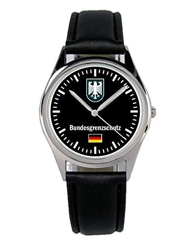 Bundesgrenzschutz Polizei Geschenk Artikel Idee Fan Uhr B-1055