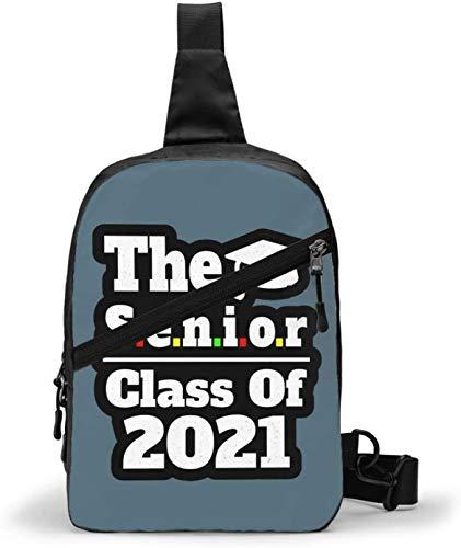 The Senior Class of 2021 - Bolso bandolera para senderismo, para mujer, hombre, resistente al agua