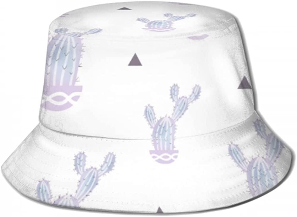 Sun Cap Pattern Purple Cactus Pot Industry No. 1 Isolated Me Hat for free shipping Bucket