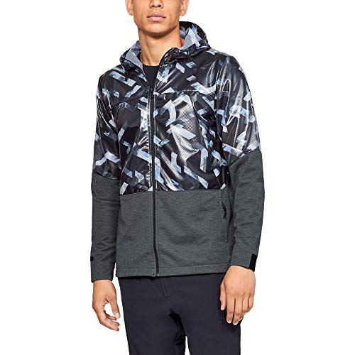 Under Armour UA Unstoppable Swacket Blouson, Pitch Gray, LG Homme