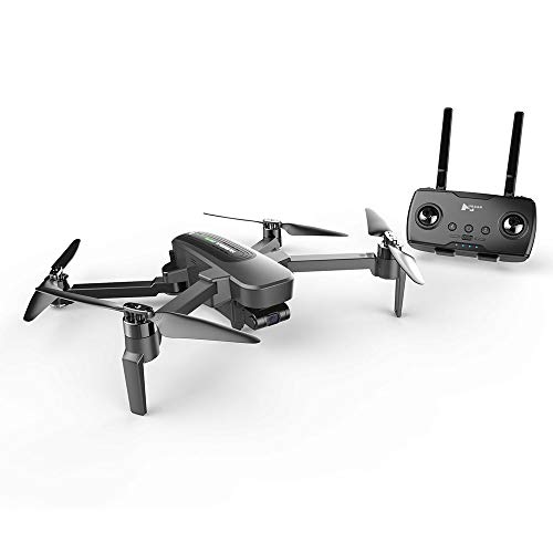AEDWQ RC Mini-GPS-Drohne Mit Kamera 4KM Fernbedienung Entfernung 4K UHD WiFi FPV Echtzeit-Videoübertragung, Vision-Assisted Landung Vierachsige Flugzeug Faltbare APP-Steuerung, Surround-Modus, Follow