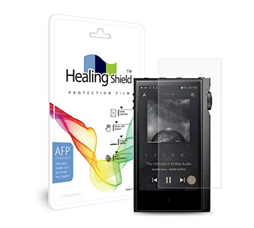 2 protectores de pantalla para Astell&Kern Kann Alpha, AFP con revestimiento oleofóbico, protector de pantalla LCD transparente, protector curativo AK Kann Alpha Film