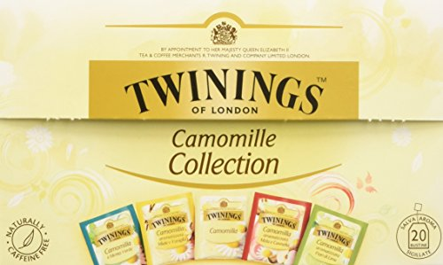 CAMOMILLE COLLECTION 5 GUSTI 20 BUSTINE TWININGS