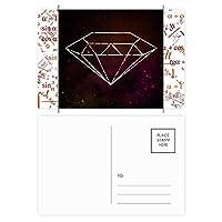クリスタル・ユニヴァーススカイファンタジーレッド 公式ポストカードセットサンクスカード郵送側20個