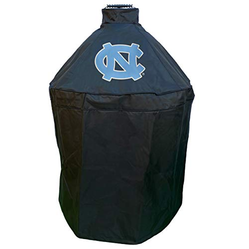North Carolina Grill Cover for Big Green Egg, Kamado Grill Cover, Big Green Egg Accessories, Collegiate Grill Covers, North Carolina Grill Accessories, Kamado Cover, Durable Grill Cover