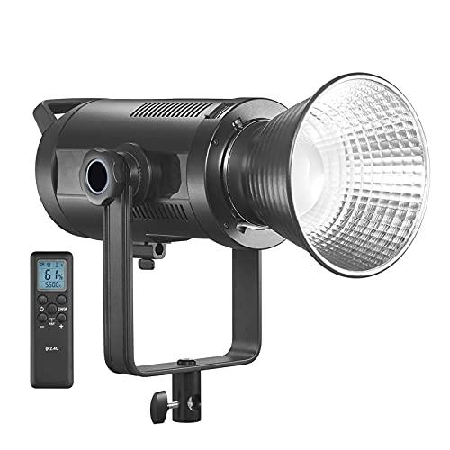 Luz de Video LED LED Video Light 16 Grupo De Pantalla LCD De 32 Canales con Control Remoto De Soporte De Tipo U Fácil de Instalar (Color : Black, Size : One Size)