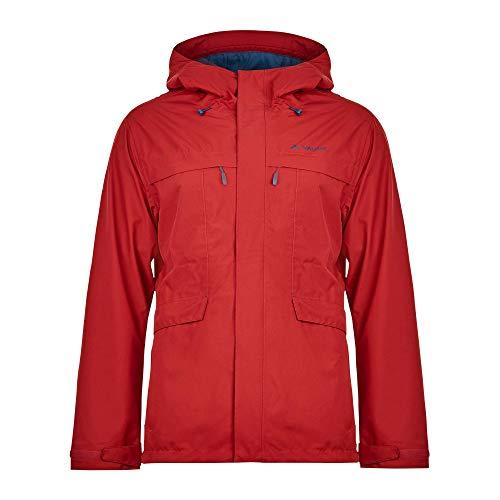 VAUDE Men's Rosemoor Jacket Veste Homme Carmine FR: XL (Taille Fabricant: XL)