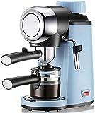 GaoF Cafetera Espresso eléctrica Profesional Bomba automática Presión Máquina de café Elegante Espumador de Leche Olla Burbuja de Espuma