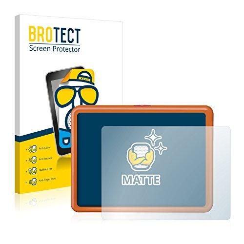 BROTECT 2X Entspiegelungs-Schutzfolie kompatibel mit Ravensburger Ministeps Mein allererstes Tablet Matt, Anti-Reflex, Anti-Fingerprint