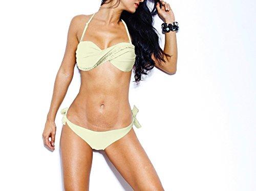 Vertiggo Bikini-set met opschrift