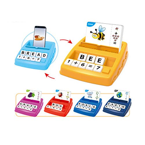 Matching Letter Game for Kids Kids Educational Toys Matching Letter Game Alphabet and Math Puzzle Game Board Game for Learn Counting Numbers Spelling