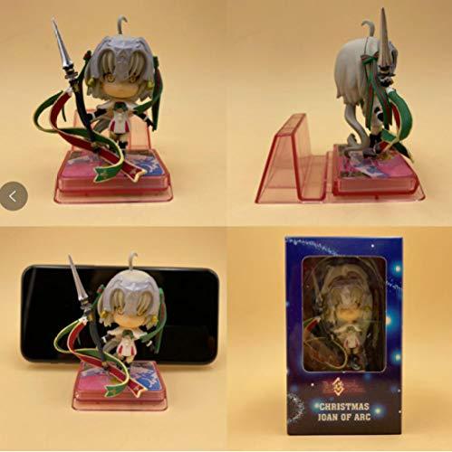 Radiancy Inc anime beeldje lot Jean de Saipa pop model mobiele telefoon beugel PVC ornamenten - Joan of Arc