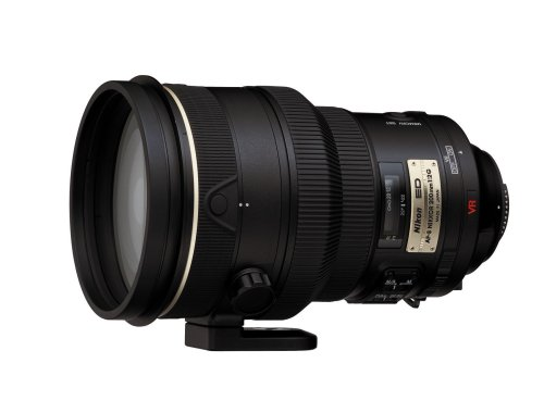 Nikon 200mm f/2G ED-IF AF-S VR Nikkor Lens for Nikon Digital SLR Cameras