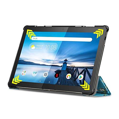 Lobwerk Case für Lenovo Tab M10 TB-X605F 10.1 Zoll Schutzhülle Tasche mit Standfunktion und Auto Sleep/Wake Funktion