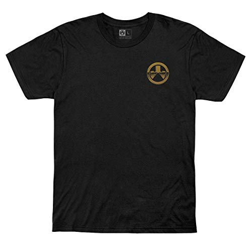Magpul Cotton Crew Neck T-Shirt for Men, Magazine Club Black, 3X-Large