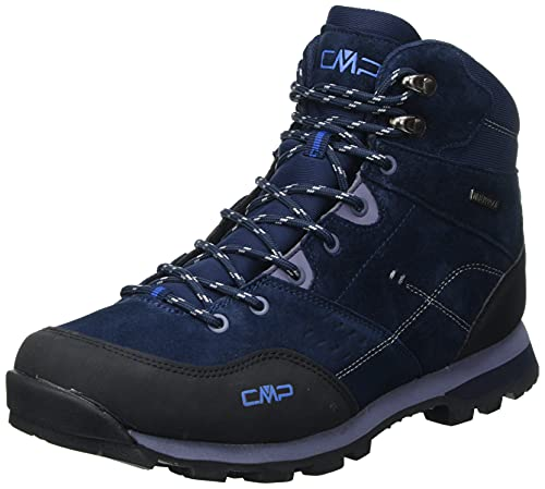 CMP Shoes, Alcor Mid Trekking Scarpe WP Uomo, B.Blue/Denim, 45 EU