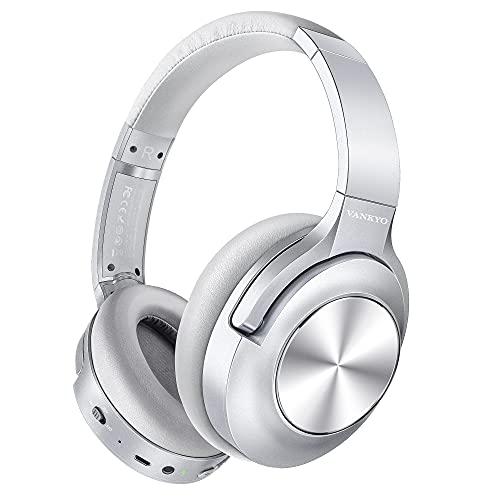 Active Noise Cancelling Headphones VANKYO C750 Wireless Bluetooth Headphones...