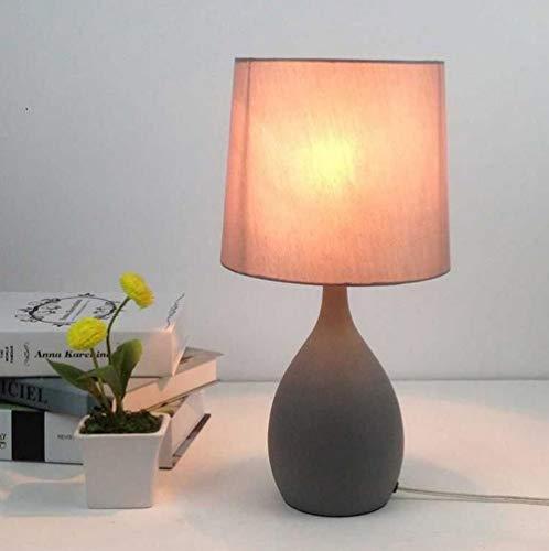 zsmyds Nachttischlampe,Led Moderne Minimalistische Nachttischlampe,Geeignet Für Schlafzimmer,Wohnzimmer,Arbeitszimmer Tischlampe,Vase Tischlampe-1