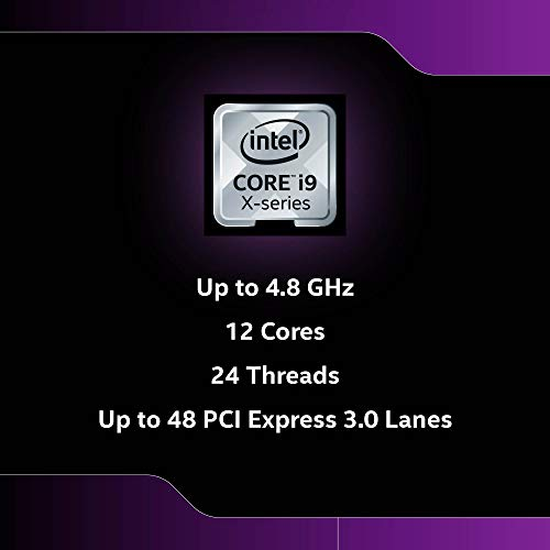 Intel Core i9-10920X Desktop Processor 12 Cores up to 4.8GHz Unlocked LGA2066 X299 Series 165W
