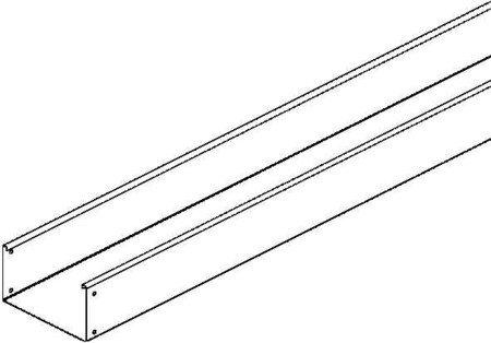 Niedax - Bandeja de cable sin perforación rlu 110.200, linz