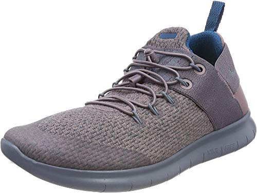 Nike Women's Running Shoes, Purple Taupe Grey Green Abyss Black Armoury Blue 200, 40.5
