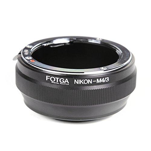 FOTGA per Nikon AI Lens a Micro4/3 M4/3 Adattatore per EP1 EP3 EPL3 EPL5 GF6 GH3 G2 GH4 GH5 GH5s