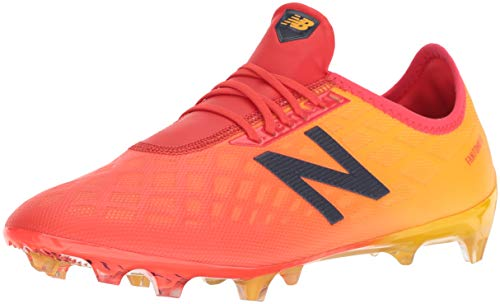 New Balance Men's Furon 4.0 Pro Firm Ground Soccer Shoe, Flame, 3.5 2E US