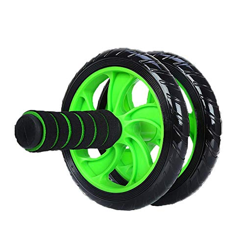 Cky Ruedas Ruido Abdominal Wheel AB Roller con Felpudo para Ejercicio Deportes Fitness Gym Equipment