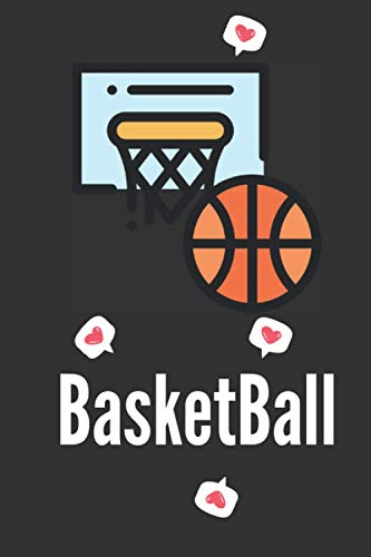 Basketball Notebook: 120 lined page