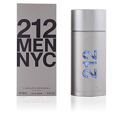 212 By Carolina Herrera For Men. Spray 3.4 Ounces