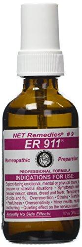 NET Remedies #9 ER 911- Emotional or Physical Trauma & Stress 60ml
