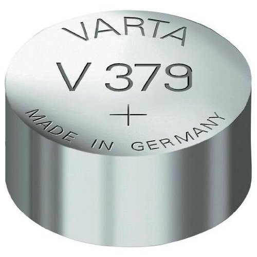 VARTA Lot de 2 Piles oxyde argent pour montres V379 (SR63) SR521SW 1,55 Volt 14 mAh