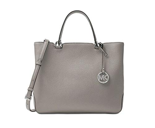 "100% Leather  Silver-Tone Hardware 12.25\W X 9.5""H X 5.5""D Handle Drop: 4.5""  Adjustable Strap: 21""-23.25"" Interior Details: Center Zip Compartment,Back Zip Pocket,2 Front Slit Pockets,2 Back Slit Pockets Lining: 100% Polyester  Top-Zip Fastening"