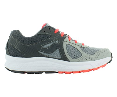 Saucony Women's Cohesion 10 Running-Shoes, Grey Coral, 8 Medium US