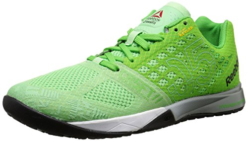Reebok Women's Crossfit Nano 5.0 Training Shoe, Seafoam Green/Bright Green/White/Tin Grey/Black/Shark, 6 M US
