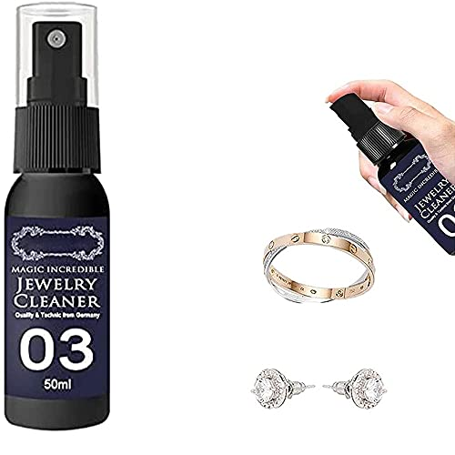 Gsdxz Tarnish Gone Jewellery Cleaner,Jewelry Cleaner Solution And Tarnish Remover, Rust Remover Spray, all Metal Polish Spray (50 ml)