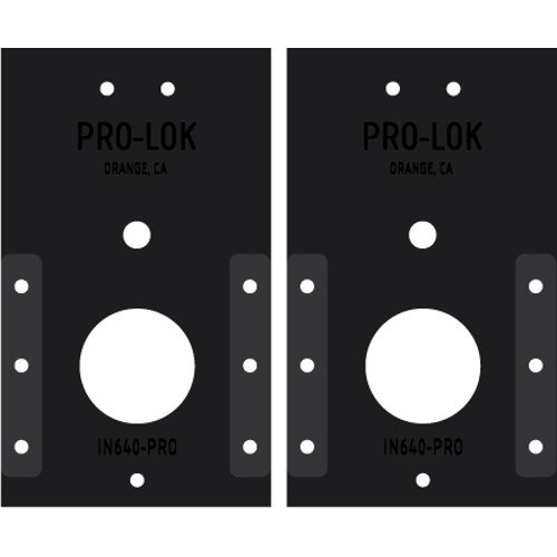 Pro-Lok Kaba E-Plex 2000 Series Cylindrical PRO Template Set