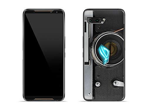etuo Hülle für Asus ROG Phone 2 - Hülle Fantastic Hülle - Retro Aparat Handyhülle Schutzhülle Etui Hülle Cover Tasche für Handy