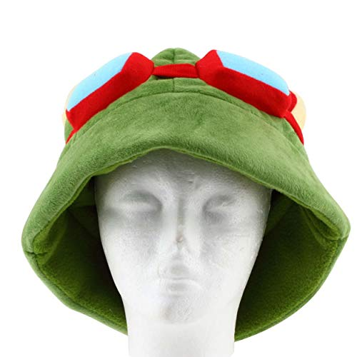Lorenlli Fiesta de Cosplay cálido Sombrero de Mascarada Hecho a Mano de Punto Invierno Adultos niños Vacaciones Fiesta de Halloween Cool Divertido Gorro de Cosplay