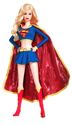 2008 Barbie Collector Doll Silver Label Supergirl Doll