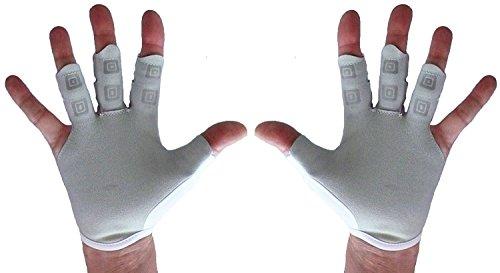 Crew Stop Paire de gants d'aviron ou de sport – Mitaines confortables pour homme ou femme, XS