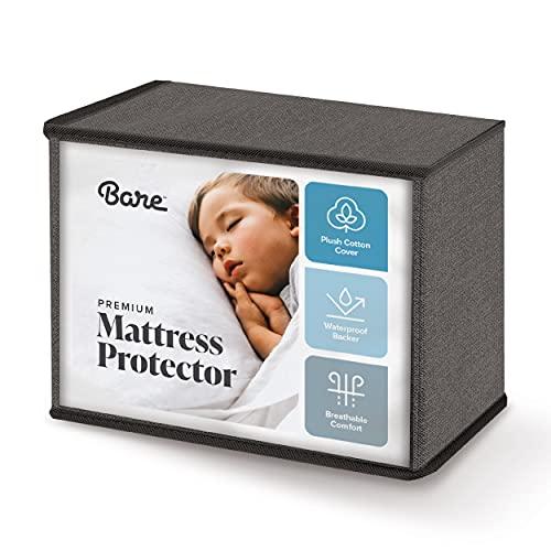 Bare Home Queen Size Mattress Protector - Premium 100% Waterproof...