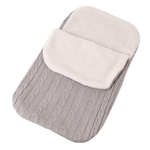 Sytps Baby Slaapzakken Breien Envelop voor Pasgeboren Baby Swaddle Wrap voor kinderwagen slapen Tas winter warm zacht