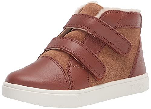 UGG baby girls Rennon Ii Sneaker, Chestnut, 10 Toddler US