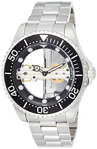 Invicta 24692 Pro Diver Herren Uhr Edelstahl mechanisch schwarzen Zifferblat